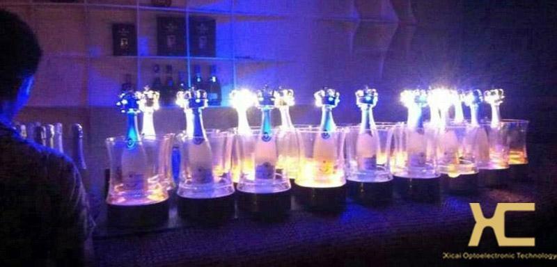 酒吧LED充电发光手提香槟冰桶 2