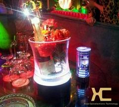 酒吧LED充电发光手提香槟冰桶