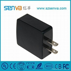 Portable AC DC Adapter with CE/CB/RoHS