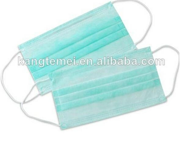 Non Woven Disposable PP 3ply Face Mask 1