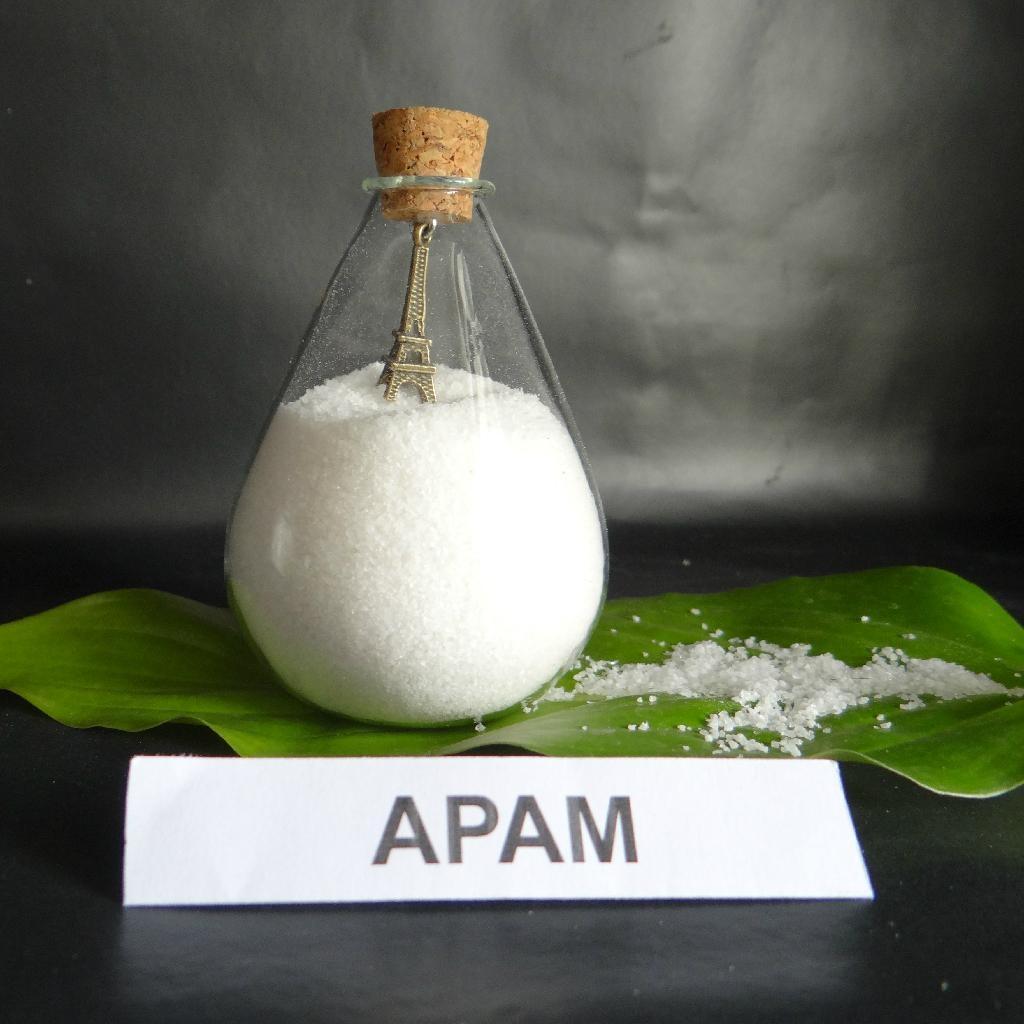 White powder flocculant polymer chemicals anionic polyacrylamide PAM 3