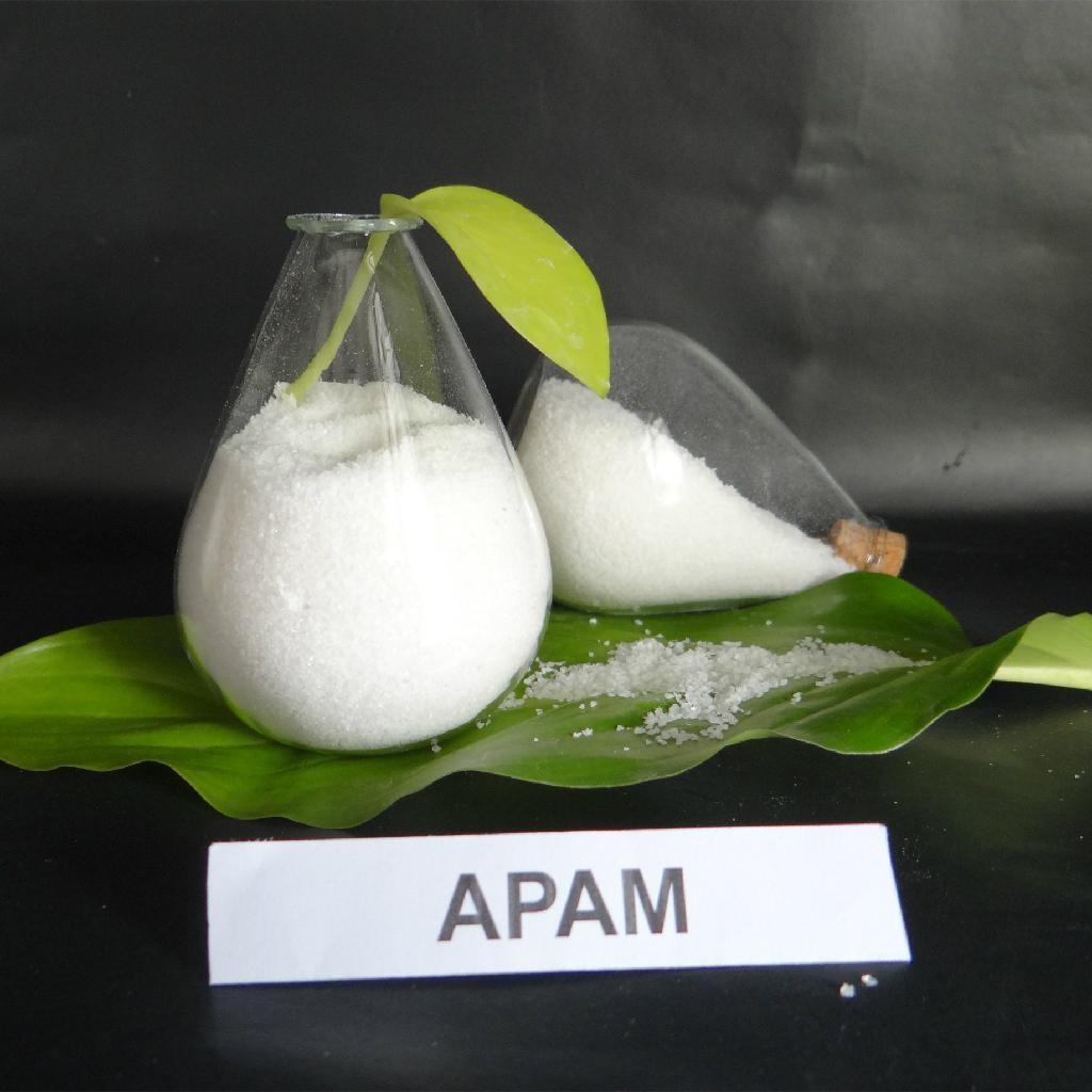 White powder flocculant polymer chemicals anionic polyacrylamide PAM 4
