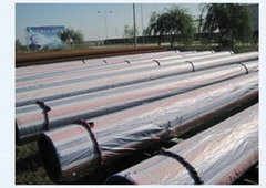 API 5L X100 steel pipes as large diameter pipes