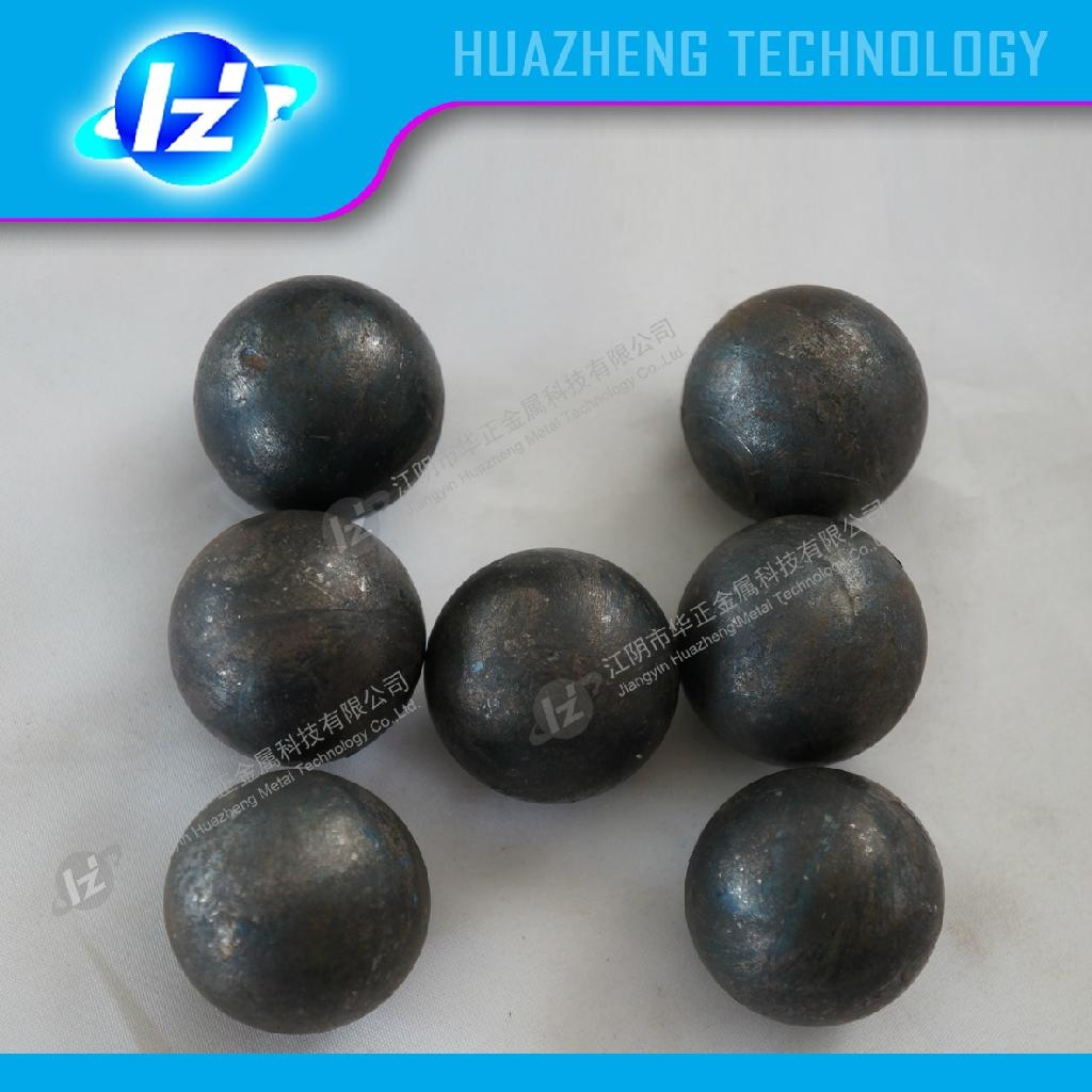 The hot-rolled grinding steel ball  1