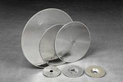 Electroplating cutting disc