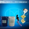 Liquid platinum cure silicone rubber for