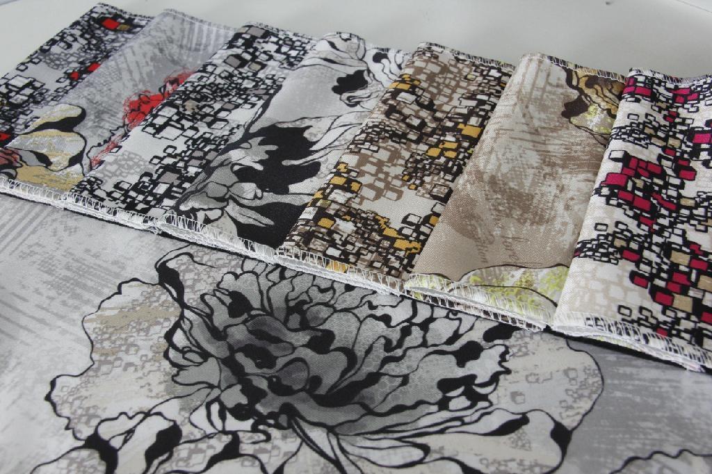 Bright Ve  et Printing Fabric 1