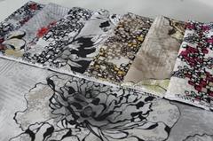 Bright Ve  et Printing Fabric