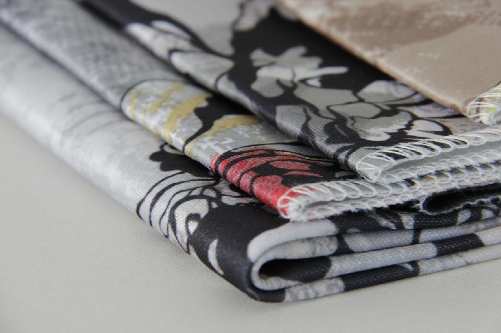 Bright Ve  et Printing Fabric 2