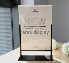 Acrylic Display stand for cosmetic smart phone acrylic display case