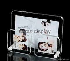acrylic photo frame Luminous display stand