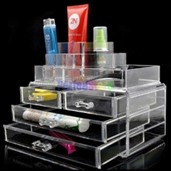 acrylic cosmetic display stand cosmetic display case or holder