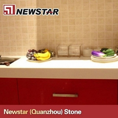 Cheap polished artificial quartz stone countertops