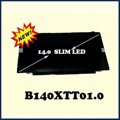 B140XTT01.0 14.0inch slim lcd screen with Touch for Lenovo S400 S410 laptop