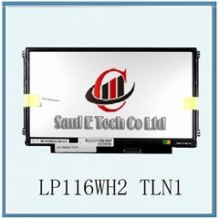 11.6inch 1366*768 slim LP116WH2 TLN1 notebook lcd screen