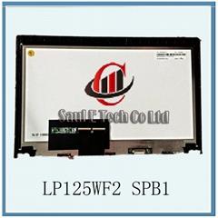 "12.5"" LED Screen Assembly For Lenovo Thinkpad S1 YOGA LCD TABLET LP125WF2 SPB1"