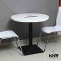 KKR desinger white acrylic stone table