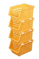 可疊加水果蔬菜籃模具