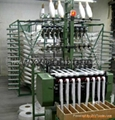 Belt weaving machine for fiberglass yarn