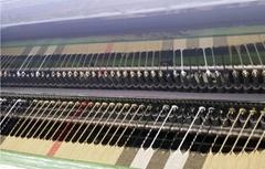 100cm width scarf fringing knotting machine