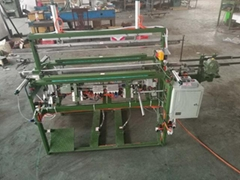 125cm width scarf fringing machine with knotting function