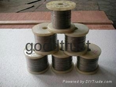 1.2mm Gr5 TI6AL4V titanium wire in straight ASTM B863 in Baoji
