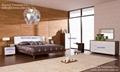 Rhine bedroom furniture bed bedside table high chest double dresser