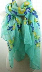 2014 Hot women love printing scarf