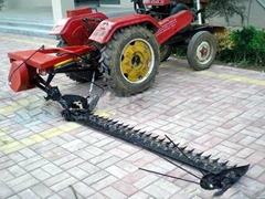 tractor lawn mower and hay rake