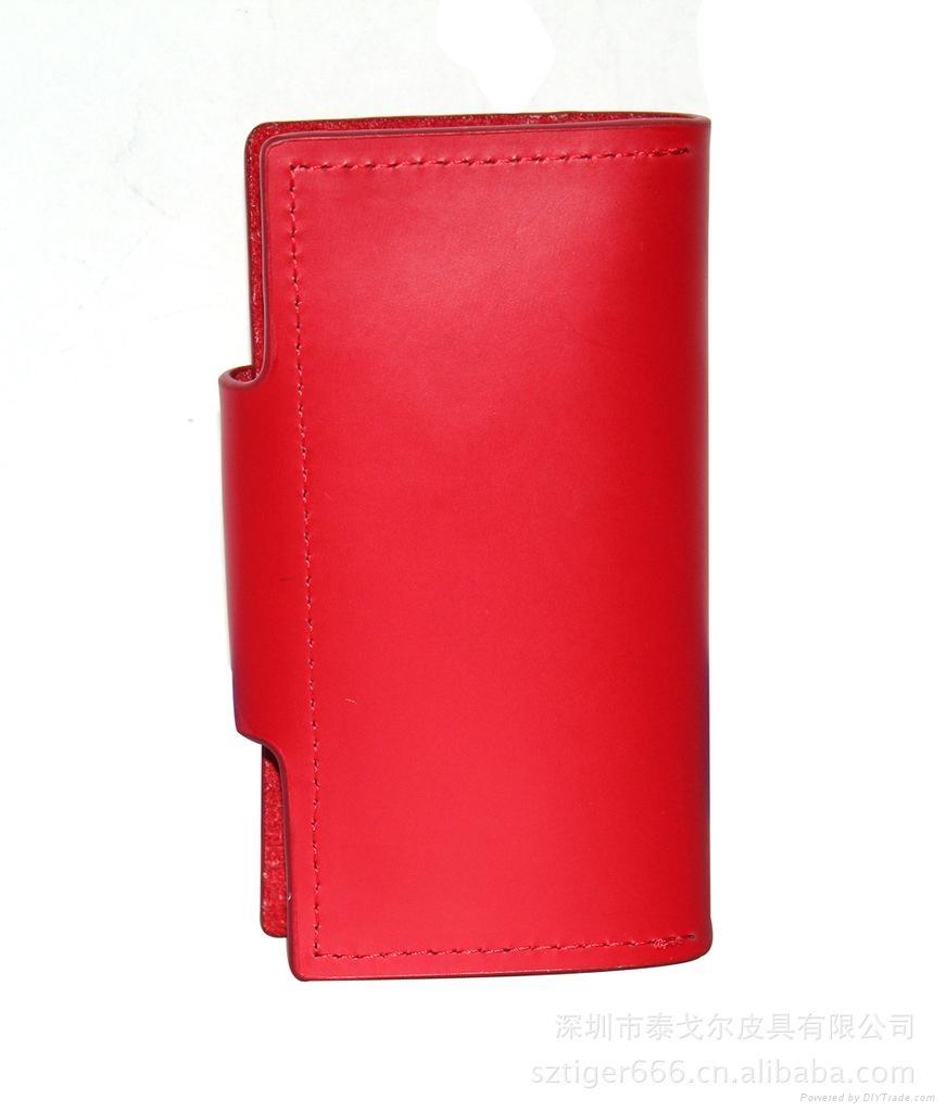 fashion leather key wallet,car key case,key chain 3