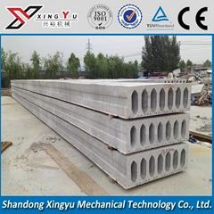 Large span roof slab machine
