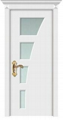 MDF Bathroom Wooden PVC Interior Door