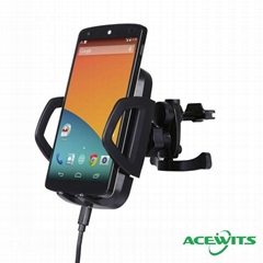 AceQi Wireless Charging Pad Universal Car Mount Holder