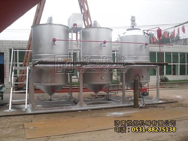 大豆油精炼设备 1