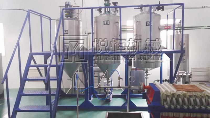 花生油精炼设备 3