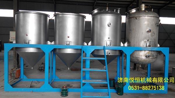 菜籽油榨油精炼设备 4