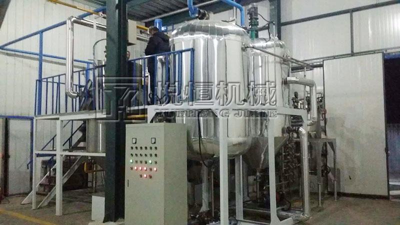 动物油脂精炼设备 3