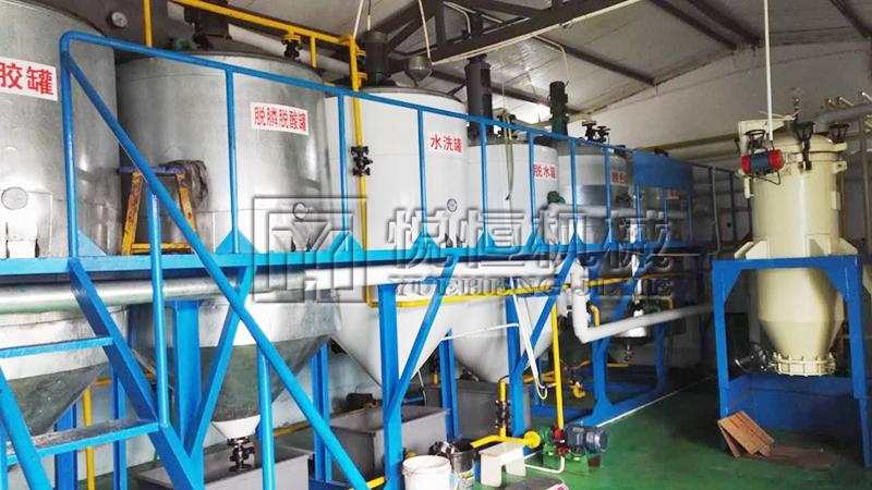 昆虫油精炼设备 3