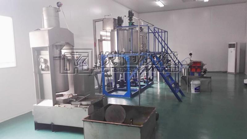 杏仁油榨油机设备 1