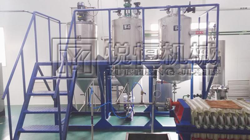 紫苏籽油榨油机设备 1