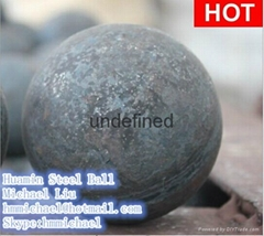 125mm forged steel grinding ball