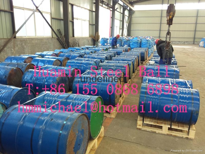 125mm forged steel grinding ball 3