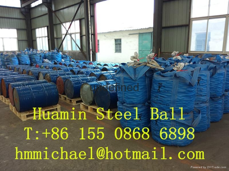 125mm forged steel grinding ball 4