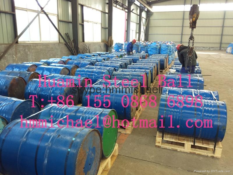 80mm forged steel grinding ball 1