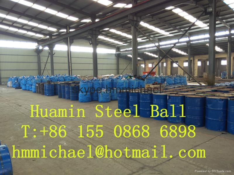 80mm forged steel grinding ball 3