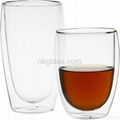 Cheap Double Wall Glass Cup