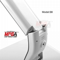 Detachable ultrathin aluminum table lamp with 3-C light modes