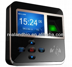 Biometric Fingerprint Time Clock Attendance System Recorder