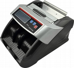 Money Counter with Two LCD Display UV MG Detecting