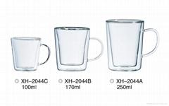 玻璃雙層杯